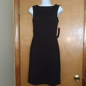 Sleeveless XS Little Black Dress - kneelength, nwt